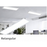 painéis led retangulares Brooklin